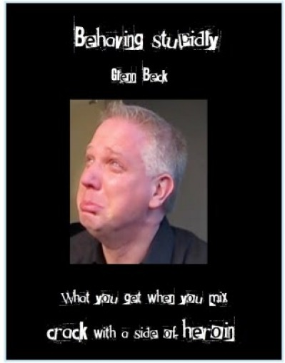 Glenn Beck behaving badly
